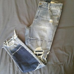 Cotton On Distressed Ankle Skinnies